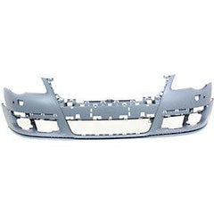 2006-2010 Volkswagen Passat Front Bumper (w/ Park Assist Sensor Holes; w/o Head Light Washer Holes) - VW1000163
