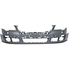 2006-2010 Volkswagen Passat Front Bumper (w/o Park Assist Sensor Holes; w/ Head Light Washer Holes) - VW1000164