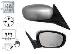2006 Chrysler 300 Painted Passenger Side Front View Mirror, Bright Silver Metallic (PS2), Power, Heated, Manual Folding_1BY421XRAB