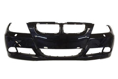 2007 BMW 335xi Front Bumper (Sedan, Without Parking Assist, With Headlight washers) Painted Monaco Blue Metallic (A35); 51117170052
