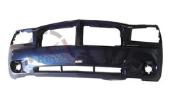 2006 Dodge Charger Front Bumper, BASE_POLICE_SE_SXT_RT, Painted Midnight Blue Pearl (PB8)