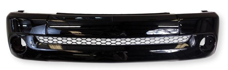 Front Lower Bumper For 2006 Toyota Tundra Painted Black Steel