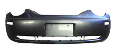 2007 Volkswagen Beetle Rear Bumper Painted Platinum Gray Metallic (LD7X)
