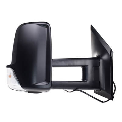 2007-2009 Dodge Sprinter Side View Mirror (Heated; w/ Signal Light; Tow Type; Driver-Side) - CH1320369