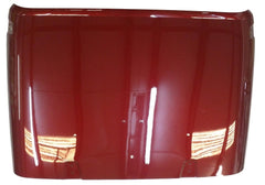 2007-2010 Jeep Wrangler Hood Painted Red Rock Crystal Pearl (PEM)