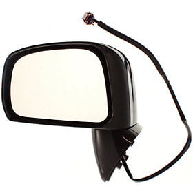 2007-2012 Nissan Versa Driver Side Power Door Mirror Sedan Hatchback, S SL Model New Style Power, Manual Folding, Non-Heated_NI1320200