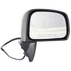 2007-2012 Nissan Versa Passenger Side Power Door Mirror Sedan Hatchback, S SL Model New Style; Power, Manual Folding, Non-Heated_NI1321200