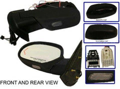 2007-2014 Cadillac Escalade Driver Side Door Mirror (Heated, Power Folding w/ Turn Signal, w/ Puddle Lamp, w/ Memory, w/o Dimmer, w/o Build Spot ) GM1320377