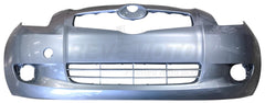 2007 Toyota Yaris Front Bumper Cover, Hatchback, With or Without Fog Lights, Painted  Meteroite Metallic (1F8)
