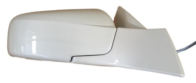 2003 Cadillac CTS Passenger Side view mirror (Heated,  With Memory, Power Folding) Painted White Diamond Pearl (WA800J)