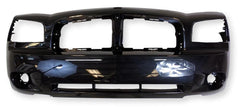 2006-2010 Dodge Charger Front Bumper Painted Brilliant Black Pearl (PXR)