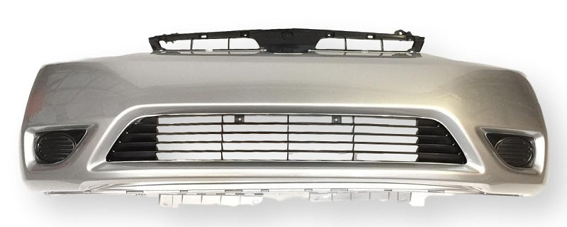 2006 Honda Civic Front Bumper (Coupe) Painted Alabaster Silver Metallic (NH 700M)8759