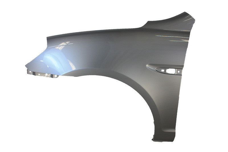 2006-2011 Hyundai Accent Driver Side Front Fender (Hatchback-Sedan; w- Side Lamp Hole) HY1240137