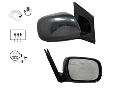 2007_Lexus_RX350_Passenger_Side_View_Mirror_Painted_Flint_Mica_1E0_Manual_Folding_Heated_with_Memory_without_Dimmer_879100E900
