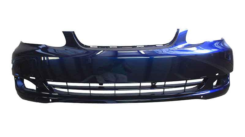 2003-2004 Toyota Corolla Front Bumper (Primed, also available painted)
