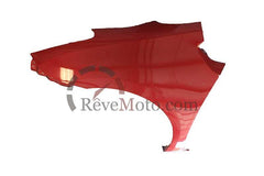 2009 Toyota Prius Driver Side Fender Painted Barcelona Red (3R3)_top view