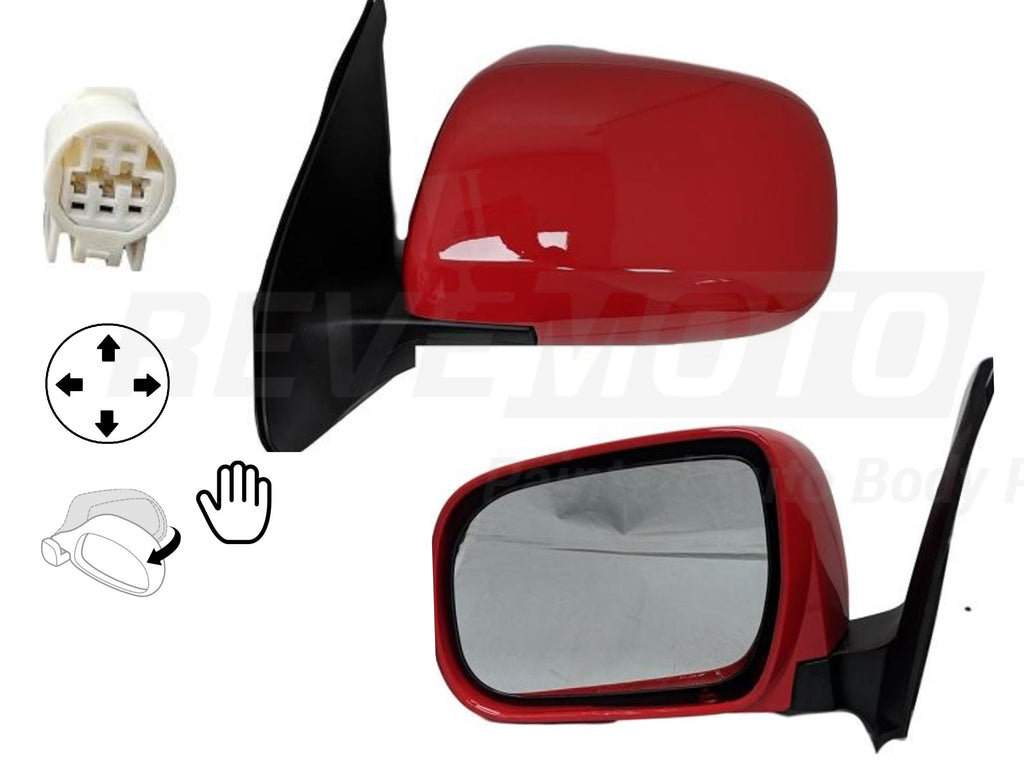 2005 Toyota Tacoma : Side View Mirror Painted