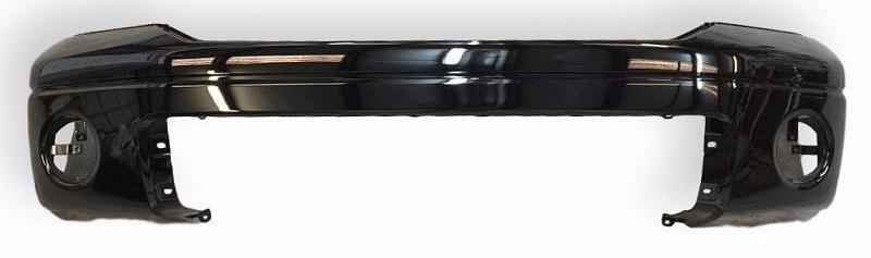 2008 Toyota Tundra Front Bumper Without Parking Sensors Painted Black (202); 521190C944