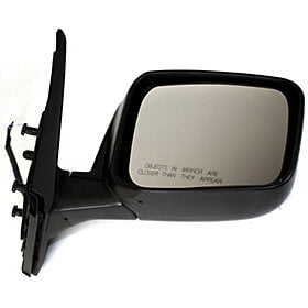 2008-2013 Nissan Rogue Driver Side Power Door Mirror Power, Manual Folding, Heated, wo Side View Camera_NI1320236