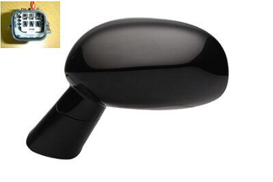 2008-2014 Dodge Challenger Side View Mirror (Non-Heated; Left) - CH1320310