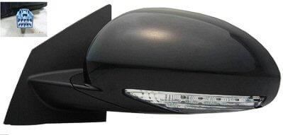2008-2012_Buick_Enclave_Side_View_Mirror_Heated_w_Mem_w_Turn_Signal_Manual_Fold_Left_-_GM1320378