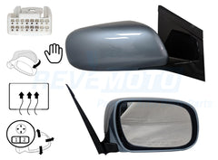 2008 Lexus RX400H Passenger Side View Mirror, Manual Folding, Heated, With Memory, Without Dimmer, Painted  Breakwater Blue Metallic (8R6)_ 8794008092C0