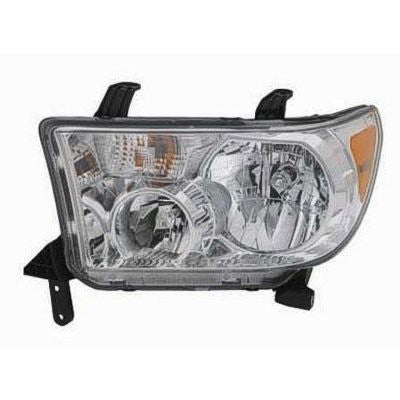 2008,09,10,2011 Toyota Sequoia Headlight; Driver side, Passenger side