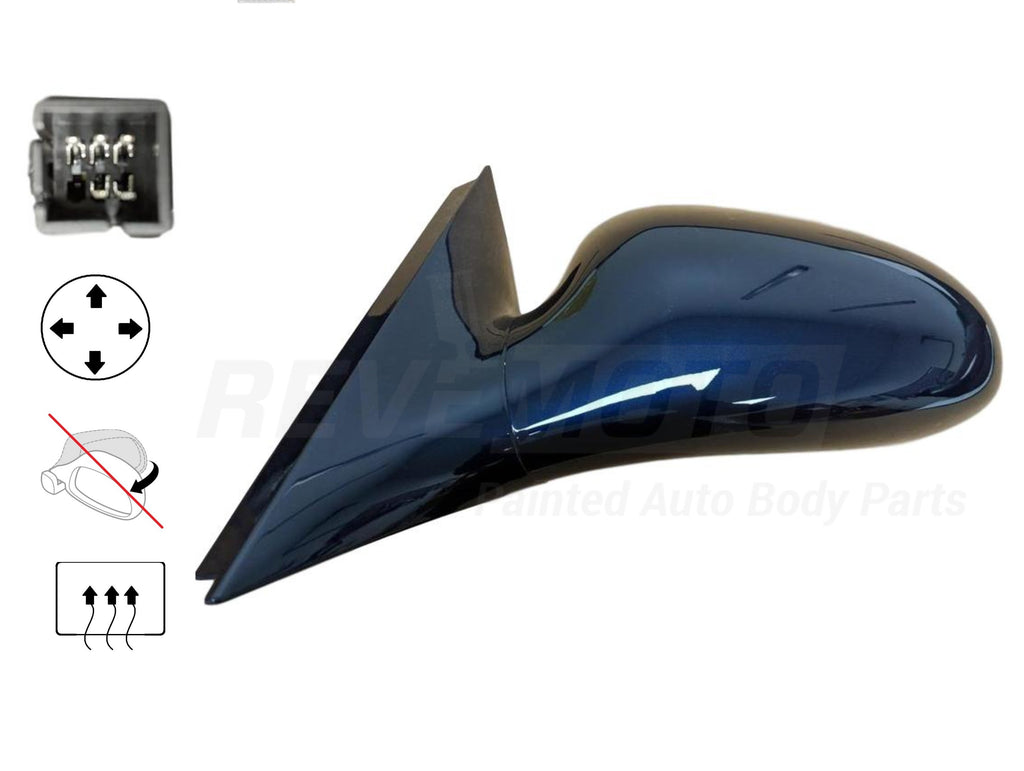 2005-2009 Buick Lacrosse Side View Mirror (Heated; Left) - GM1320302