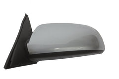 2007 Hyundai Sonata Side View Mirror Painted Crystal Silver Blue Metallic (H1) - back view