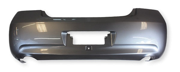 2008 Infiniti G35 Rear Bumper Painted Gray Metallic (K51), Sedan