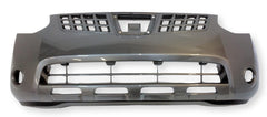 2008 Nissan Rogue Front Bumper Painted Gray Metallic (K51)