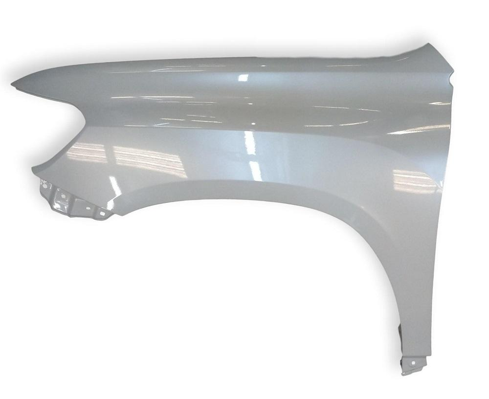 2008-2010 Toyota Highlander Fender (Driver Side); Also Fits Hybrid Models; w_o Antenna Hole; TO1240219; 538020E030
