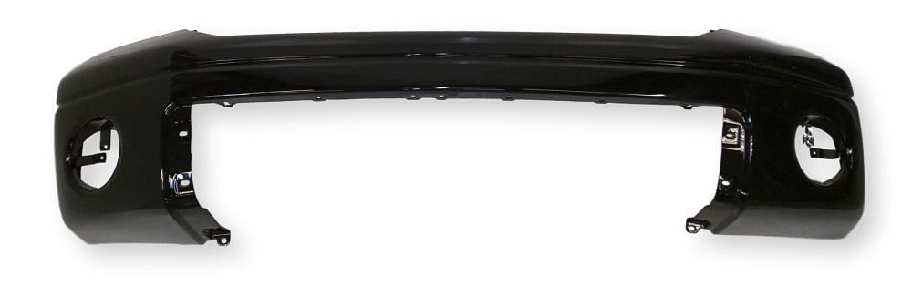 2007-2013 Toyota Tundra Front Bumper; Pick-up-  w_o Park Assist Sensor Holes; Plastic; TO1000332; 521190C944