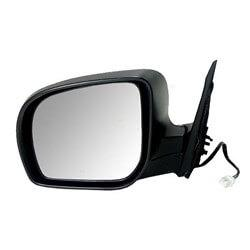 2009-2010 Subaru Forester Driver Side Power Door Mirror (Non-Heated; w-o Turn Signal; Power; Manual Folding) SU1320117