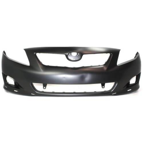 2009 Toyota Corolla S_XRS Front Bumper Painted Barcelona Red Mica (3R3); 5211902989
