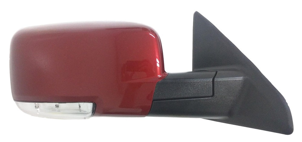 2009-2010 Dodge Ram [1500] (2010 Dodge Ram [2500/3500]) Mirror (Heated; w/ Signal Light; w/ Puddle Light; w/o Auto Dimmimg; Left) - CH1320293