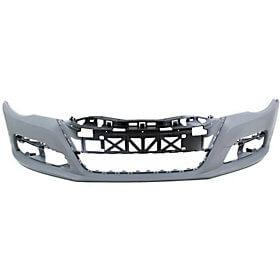 2009-2012 Volkswagen Passat CC Front Bumper (w/ Park Assist Sensor Holes; w/ Head Light Washer Holes) - VW1000180
