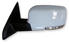 2009,2011-2012 Dodge Ram Side View Mirror Painted Bright White (PW7), Driver-Side