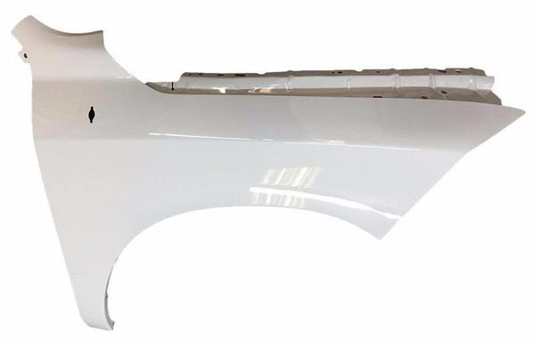 2011-2016, 2018 Dodge Ram Fender Painted Black (PX8), Driver-Side