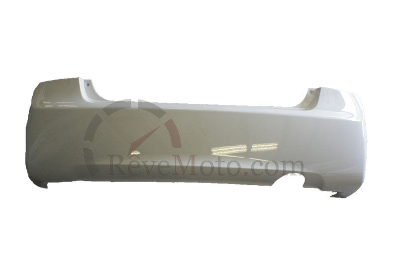 2008 Honda Accord Rear Bumper (Sedan  4 cyl) Painted Polished Metal Metallic (NH-737M)