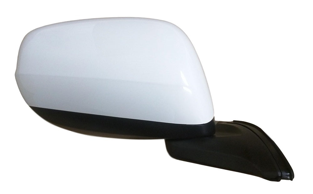 2009-2014 Honda Fit Mirror (Driver Side); Power; Manual Folding; Non-Heated; w/ Cover; HO1320246; 76258TK6305