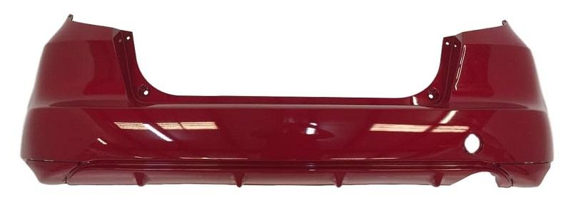 2013 Honda Fit Rear Bumper Painted Milano Red (R81)