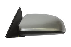 2007 Hyundai Sonata Side View Mirror Painted Bright Silver Metallic (K1) - back view