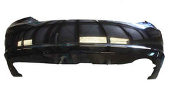 2008 Kia Spectra Rear Bumper Painted Ebony Black (Paint Code: EB)