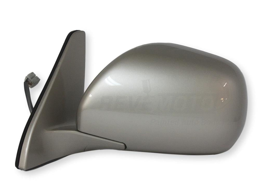 2004 Lexus GX470 Driver Side Mirror, Heated  With Memory, Painted Ash Blue Metallic (1E8)