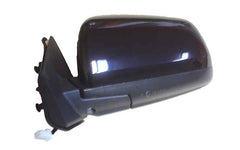 2008 Mitsubishi Lancer Side View Mirror Painted Tarmac Black Pearl, Paint Code: X42 (back view)