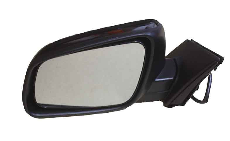 2008-2015 Mitsubishi Lancer Driver Side Power Door Mirror (Heated; Power; Manual Folding) MI1320132