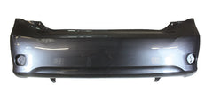 2009 Toyota Corolla Rear Bumper Painted Magnetic Gray Metallic (1G3)
