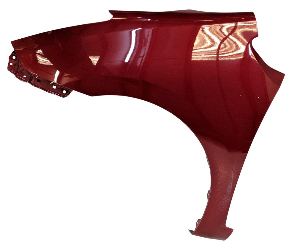 2009 Toyota Prius Driver-side Fender Painted Barcelona Red Mica (3R3)