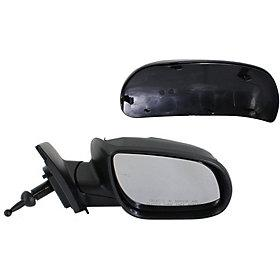2010-2011 Hyundai Accent Driver Side Power Door Mirror (Hatchback-Sedan; Non-Heated; Power; Manual Folding) HY1320172